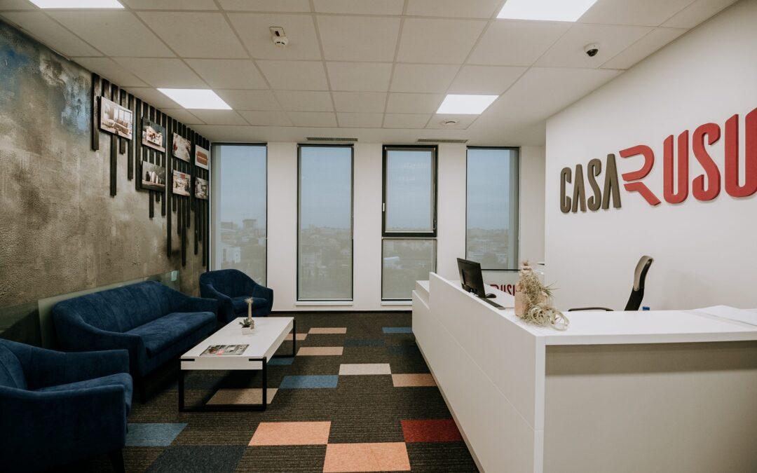 Casa Rusu își relochează sediul în Vox Technology Park și închiriază 500 de metri pătrați
