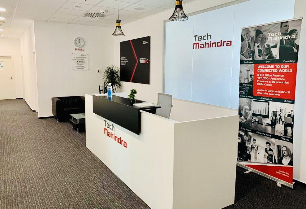 Gigantul IT Tech Mahindra își extinde biroul din Vox Technology Park cu 1.500 de metri pătrați
